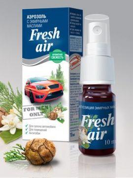 Аэрозоль для автомобиля FRESH AIR 10 мл