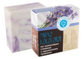 """Натуральное мыло на кокосовых сливках с экстрактами крымских трав """"Ежедневный уход"""""""